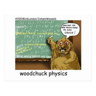 johann_woodchuck tarjeta postal