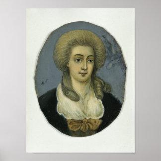 Johanna Elisabeth Mencken Poster