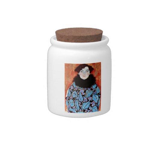 Johanna Staude by Gustav Klimt Candy Dish