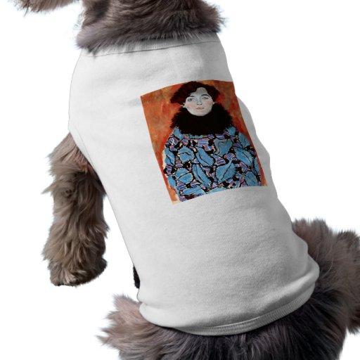 Johanna Staude by Gustav Klimt Doggie T Shirt