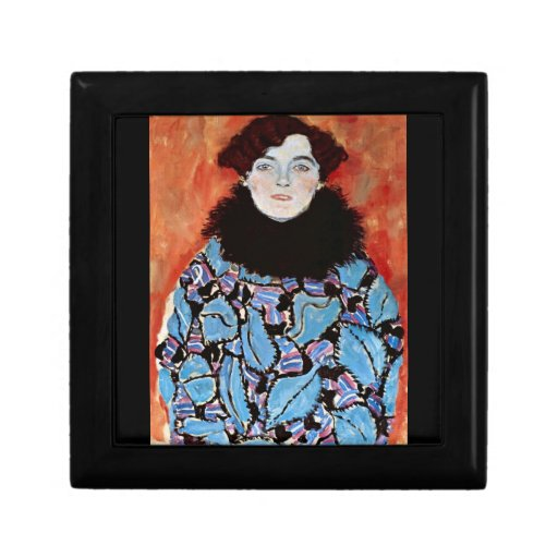 Johanna Staude by Gustav Klimt Gift Box