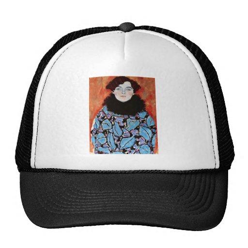 Johanna Staude by Gustav Klimt Trucker Hats