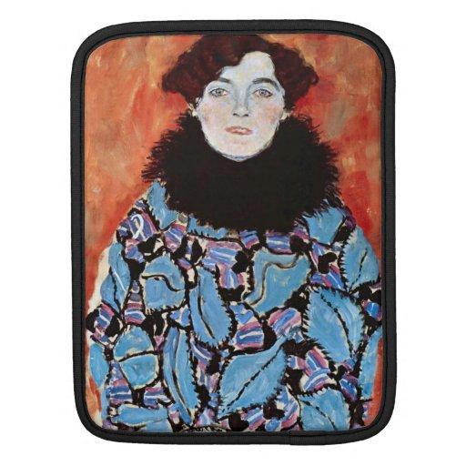 Johanna Staude by Gustav Klimt Sleeves For iPads