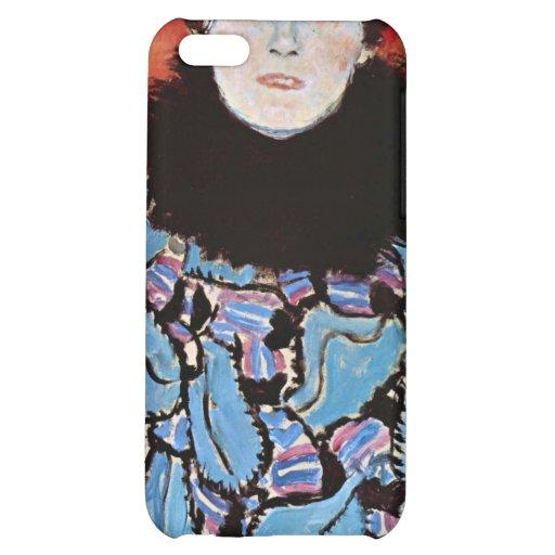 Johanna Staude by Gustav Klimt Cover For iPhone 5C