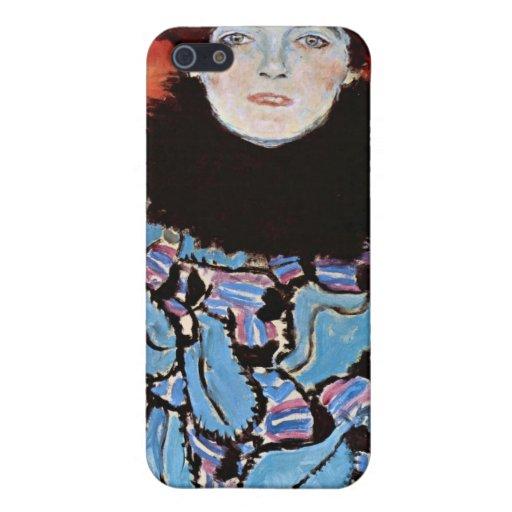 Johanna Staude by Gustav Klimt Cover For iPhone 5