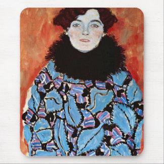Johanna Staude by Gustav Klimt Mouse Pad