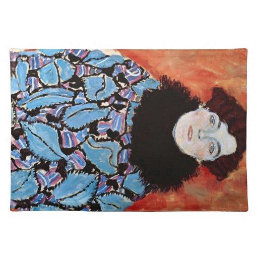 Johanna Staude by Gustav Klimt Placemat