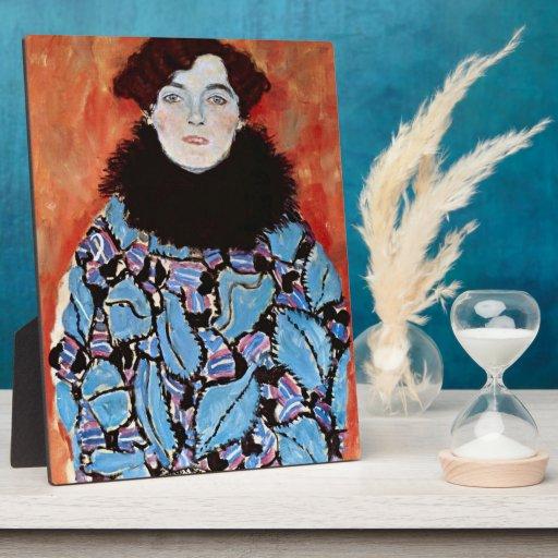 Johanna Staude by Gustav Klimt Photo Plaques