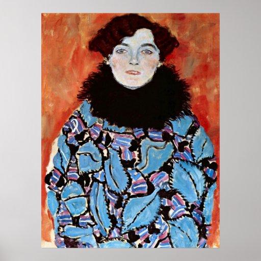 Johanna Staude by Gustav Klimt Posters