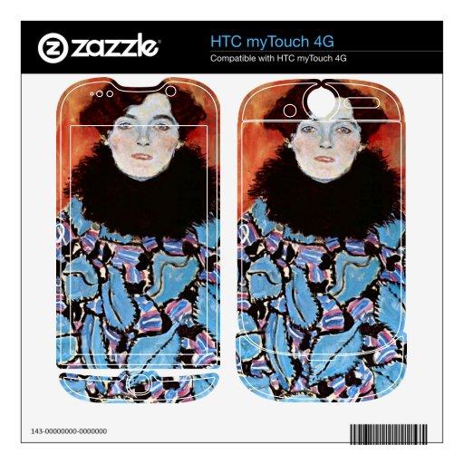 Johanna Staude by Gustav Klimt HTC myTouch 4G Skin