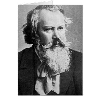 Johannes Brahms, 1879 Greeting Card