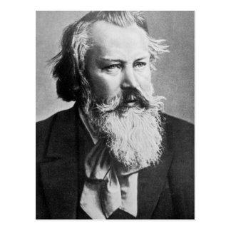 Johannes Brahms, 1879 Postcard