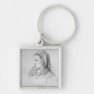 Johannes Brahms  aged twenty, 1853 Keychains