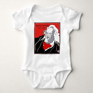 Johannes Brahms Baby Bodysuit
