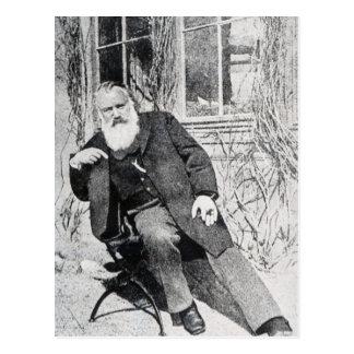 Johannes Brahms, c.1897 Postcard
