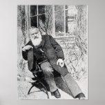 Johannes Brahms, c.1897 Póster