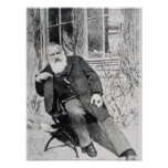 Johannes Brahms, c.1897 Print