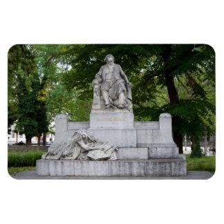 Johannes Brahms Imán Rectangular