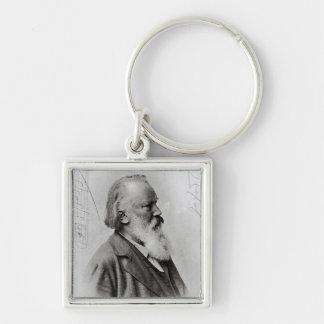 Johannes Brahms Keychain