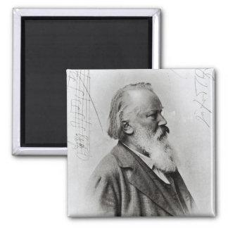 Johannes Brahms Fridge Magnet