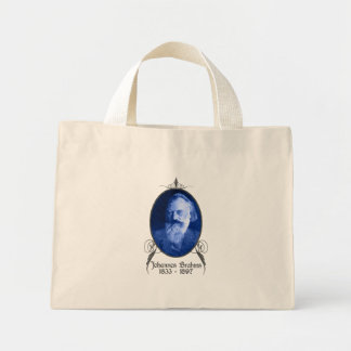 Johannes Brahms Mini Tote Bag