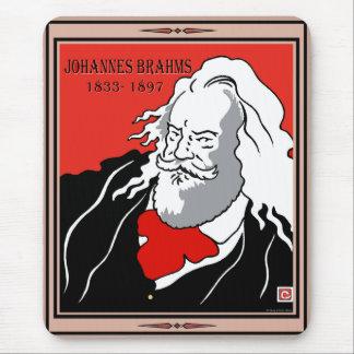 Johannes Brahms Mousepad Tapete De Raton
