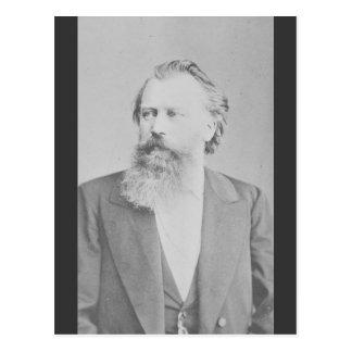 Johannes Brahms Postcard
