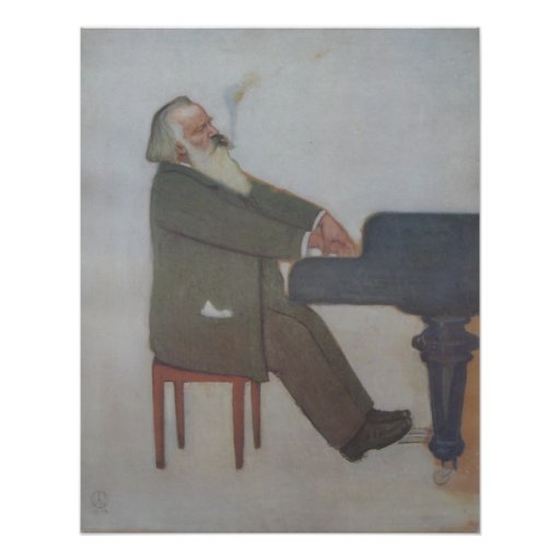 Johannes Brahms Print