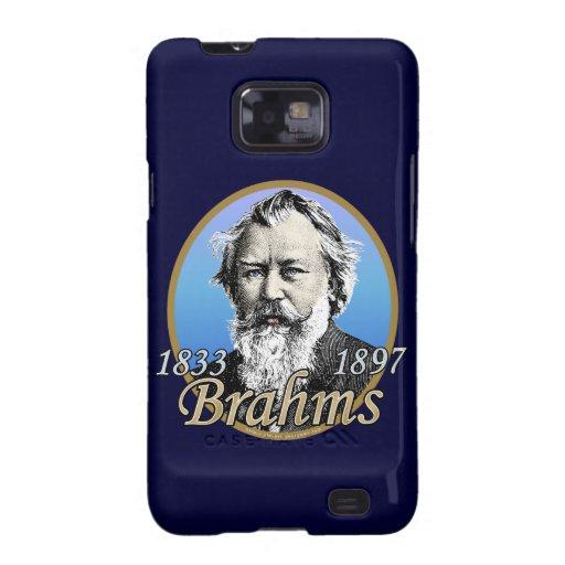Johannes Brahms Samsung Galaxy S2 Fundas