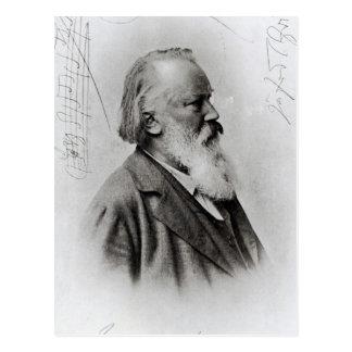 Johannes Brahms Tarjeta Postal