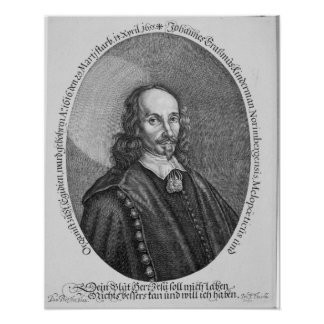 Johannes Erasmus Kindermann Poster