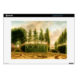 "Johannes Janson A Formal Garden Vintage Painting Decals For 15"" Laptops"