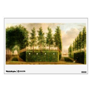 Johannes Janson A Formal Garden Vintage Painting Room Graphics