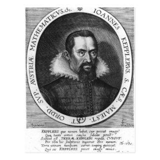 Johannes Kepler  1590 Postcard