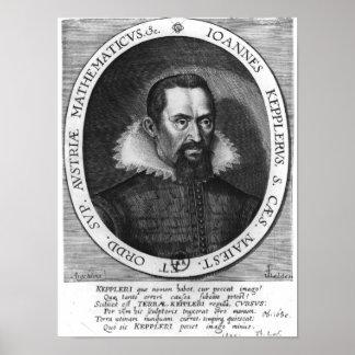 Johannes Kepler 1590 Póster