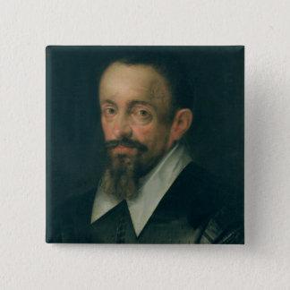 Johannes Kepler , astronomer, c.1612 Button