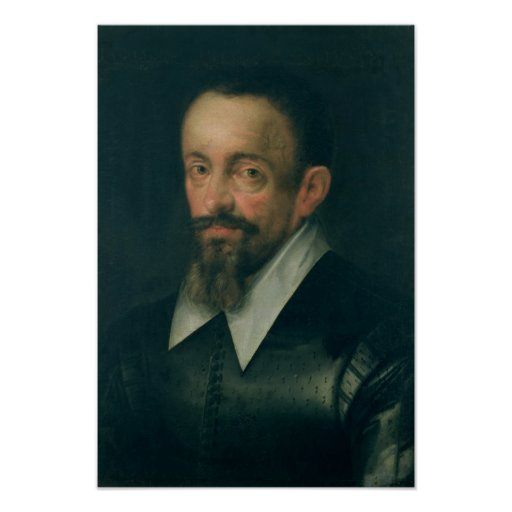 Johannes Kepler , astronomer, c.1612 Posters