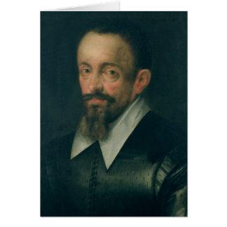Johannes Kepler, astrónomo, c.1612 Tarjeta De Felicitación