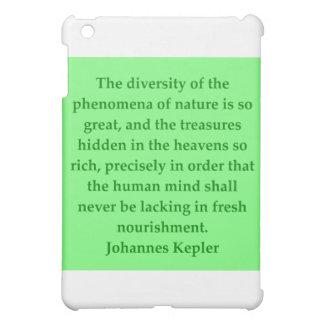 Johannes Kepler quote iPad Mini Covers