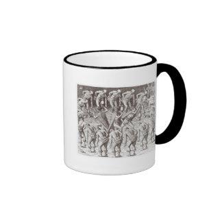 Johannes Lerii's Account of the Caraibe Indians Ringer Mug