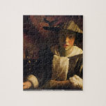 Johannes Vermeer - Girl with a flute puzzle