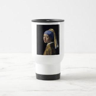 Johannes Vermeer - Girl with a Pearl Earring Mugs