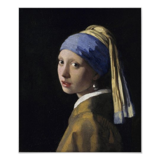 3efec420682 Johannes Vermeer - Girl with a Pearl Earring Poster