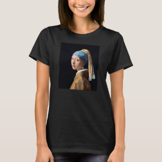 Johannes Vermeer, Girl with a Pearl Earring Shirt