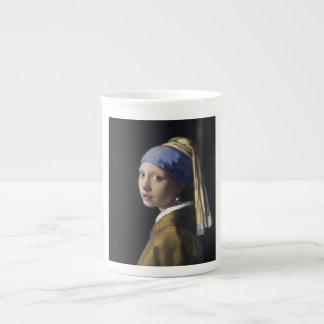 Johannes Vermeer - Girl with a Pearl Earring Bone China Mug