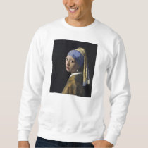 Johannes Vermeer - Girl with a Pearl Earring Sweatshirt