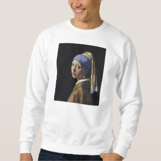 Johannes Vermeer - Girl with a Pearl Earring Sweatshirt