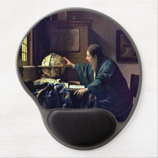Johannes Vermeer - The Astronomer Gel Mouse Pad