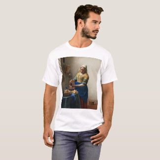 JOHANNES VERMEER - The milkmaid 1658 T-Shirt