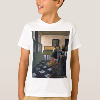Johannes Vermeer - The Music Lesson T-Shirt